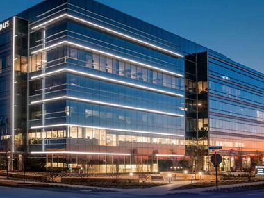 The Offices Two building is part of the $1.8 billion Frisco Station development.