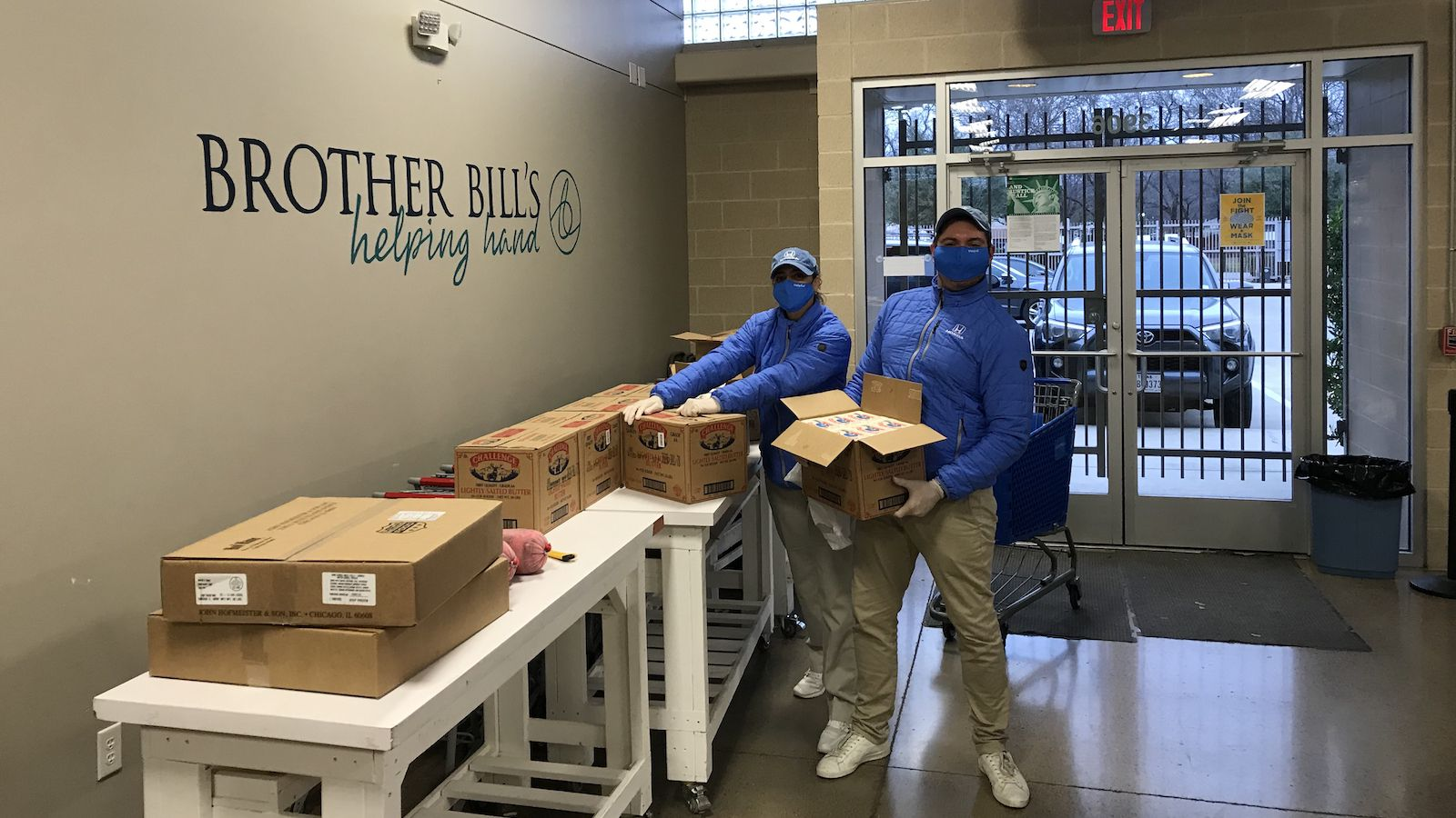 Brother Bill's Helping Hand is one of the many organizations the Helpful Honda Guys have worked with over the last year. The community ambassadors were able to keep up random acts of helpfulness in D-FW with the help of the VOMO platform.