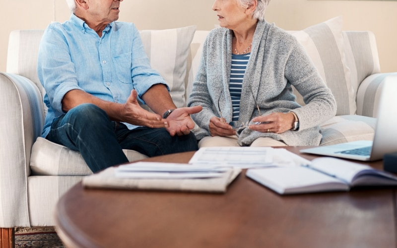 There are various forms of debt that are common in the division of a marital estate.