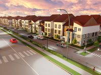 The Collin Creek mixed-use project will include 500 luxury townhomes.
