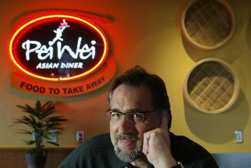 Pei Wei Diner managing partner for the Dallas market, Mark Brezinski, inside the Plano location.