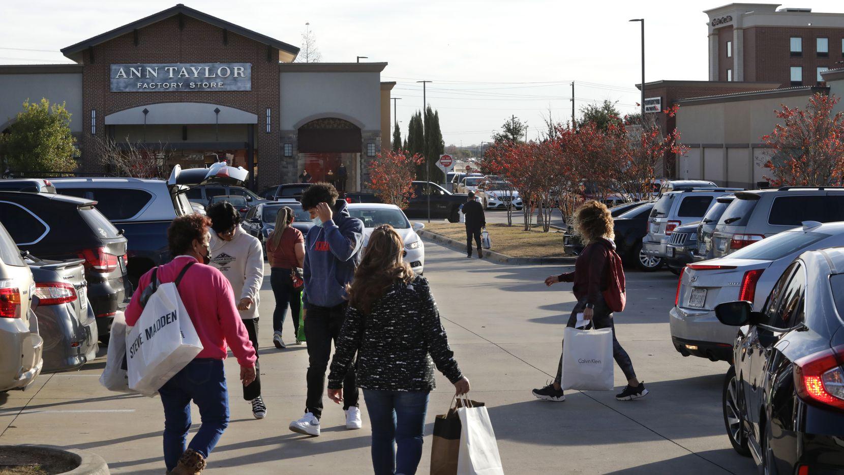 Allen Premium Outlets in Allen, TX.