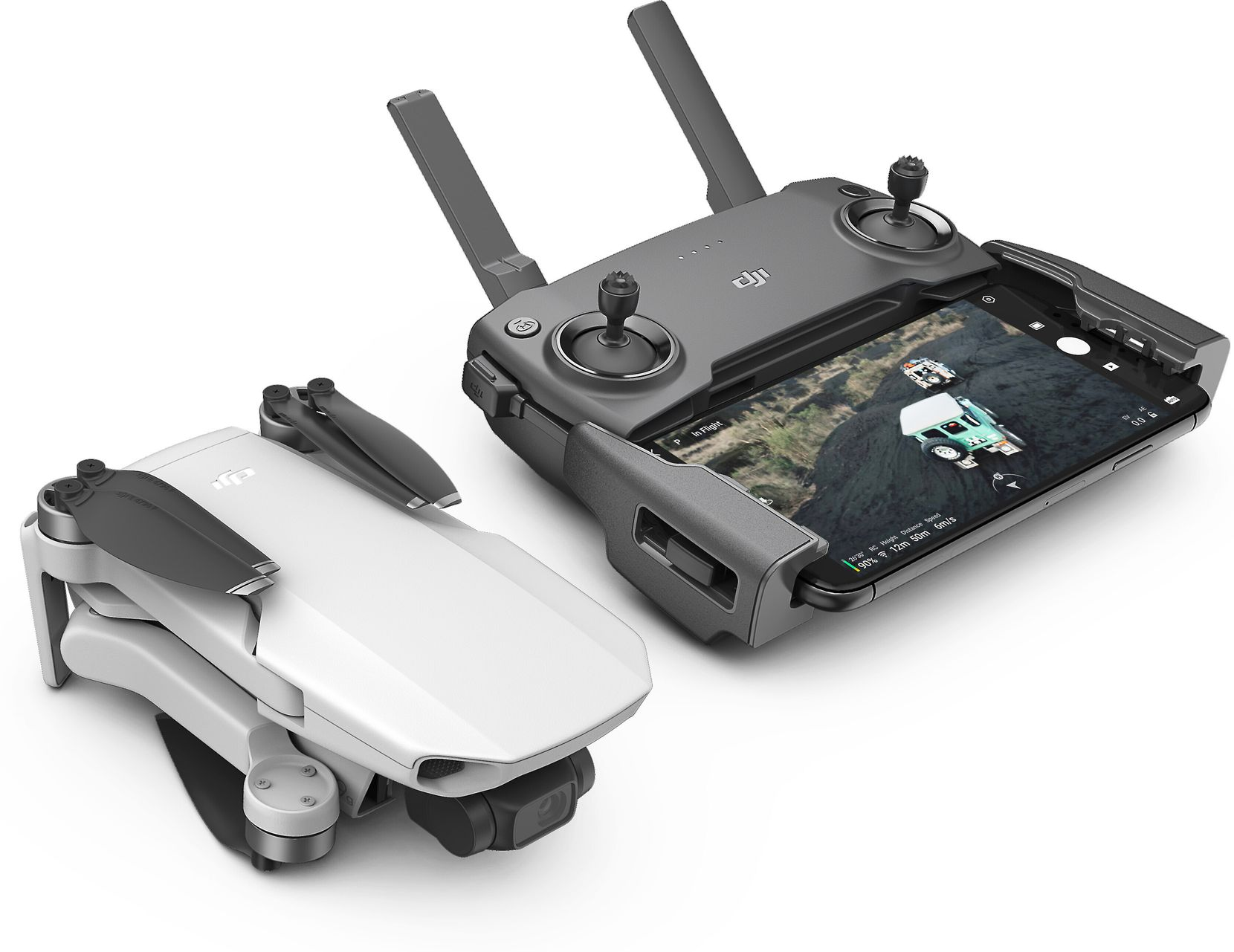 DJI Mavic Mini with controller