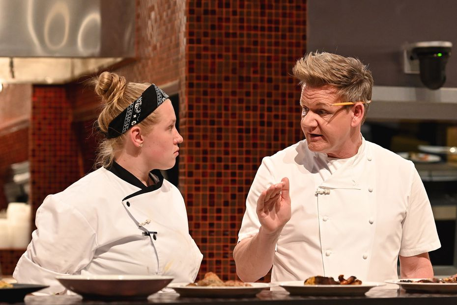 """Chef Megan Gill, from Denton, said Gordon Ramsay was a mentor —  """"kind of like a dad"""" — despite his foul-mouthed persona on TV. Gill said in an interview in May 2021: """"You can truly feel his presence in a room. But at the end of the day, he wanted success for all of us. That was nice to see."""""""