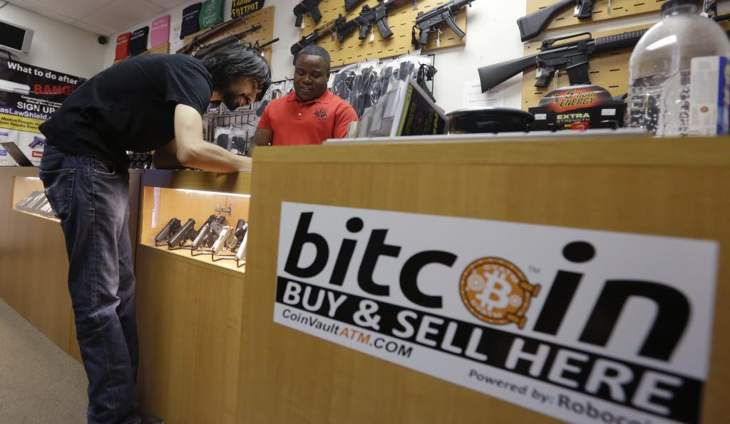 In 2014, Jon Rumion bought two guns at Central Texas Gun Works in Austin using bitcoin.
