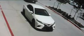 The four suspects fled in a newer model white Toyota Corolla toward Coit Road, police said.