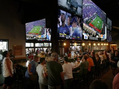 It was a packed house for the Cowboy's third preseason game at BoomerJack's Grill and Bar in Grapevine on Aug. 24.