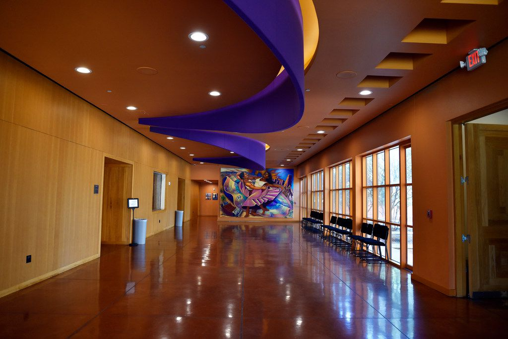 The Latino Cultural Center opted against granting any resident company exclusivity, instead playing host to seven core groups as well as other performing arts organizations.