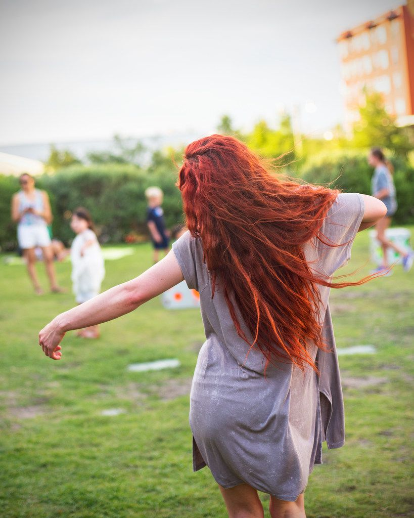 """Dancer-choreographer Jessica Thomas will perform """"an embodied exploration on the alchemical heat waves of the creative feminine fire"""" at Burning Woman."""