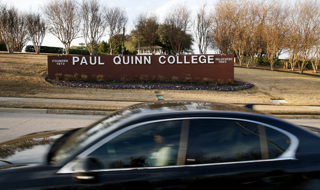Paul Quinn College in Dallas now has 520 students.