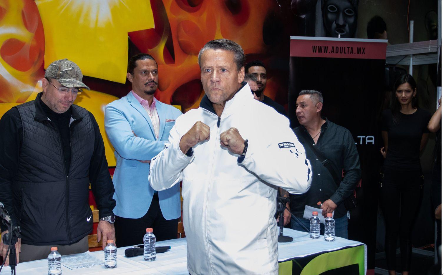 Alfredo Adame y Carlos Trejo quieren enfrentarse a golpes este sábado.
