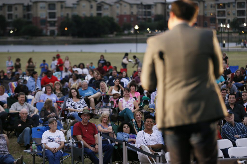 Laughs by the Lake, a free comedy show, is returning in person this Friday in Irving after last year's show was virtual because of COVID-19.