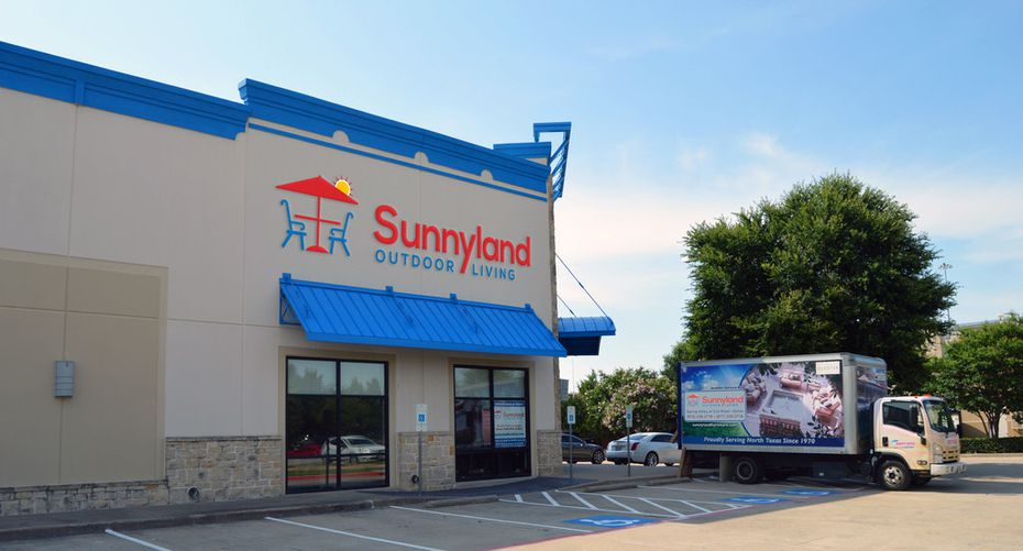 Sunnyland Patio Furniture in Dallas opened a second store at 8202 State Highway 121 at Parkwood in Frisco. .
