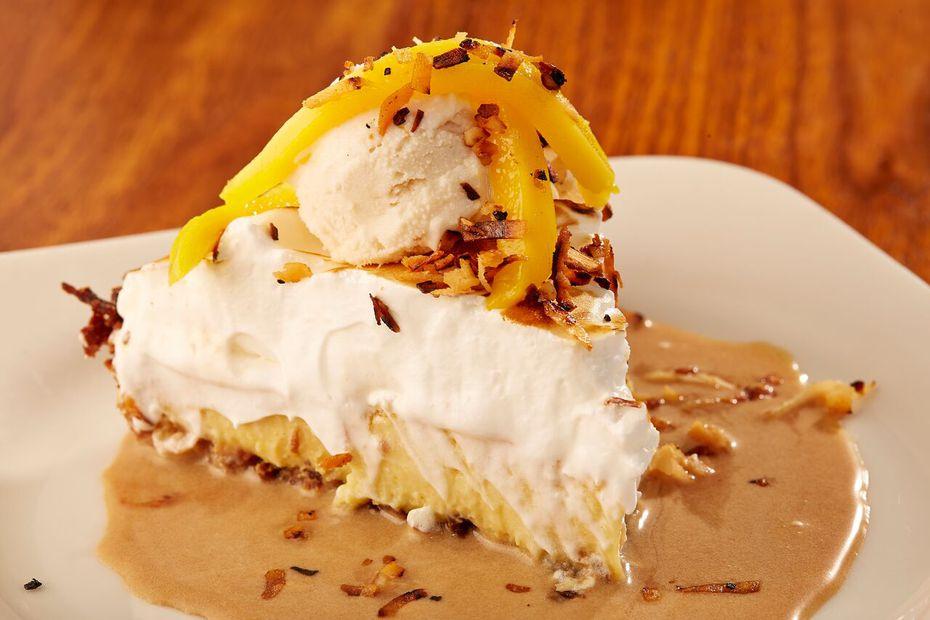Coconut cream pie for Thanksgiving? Yup.