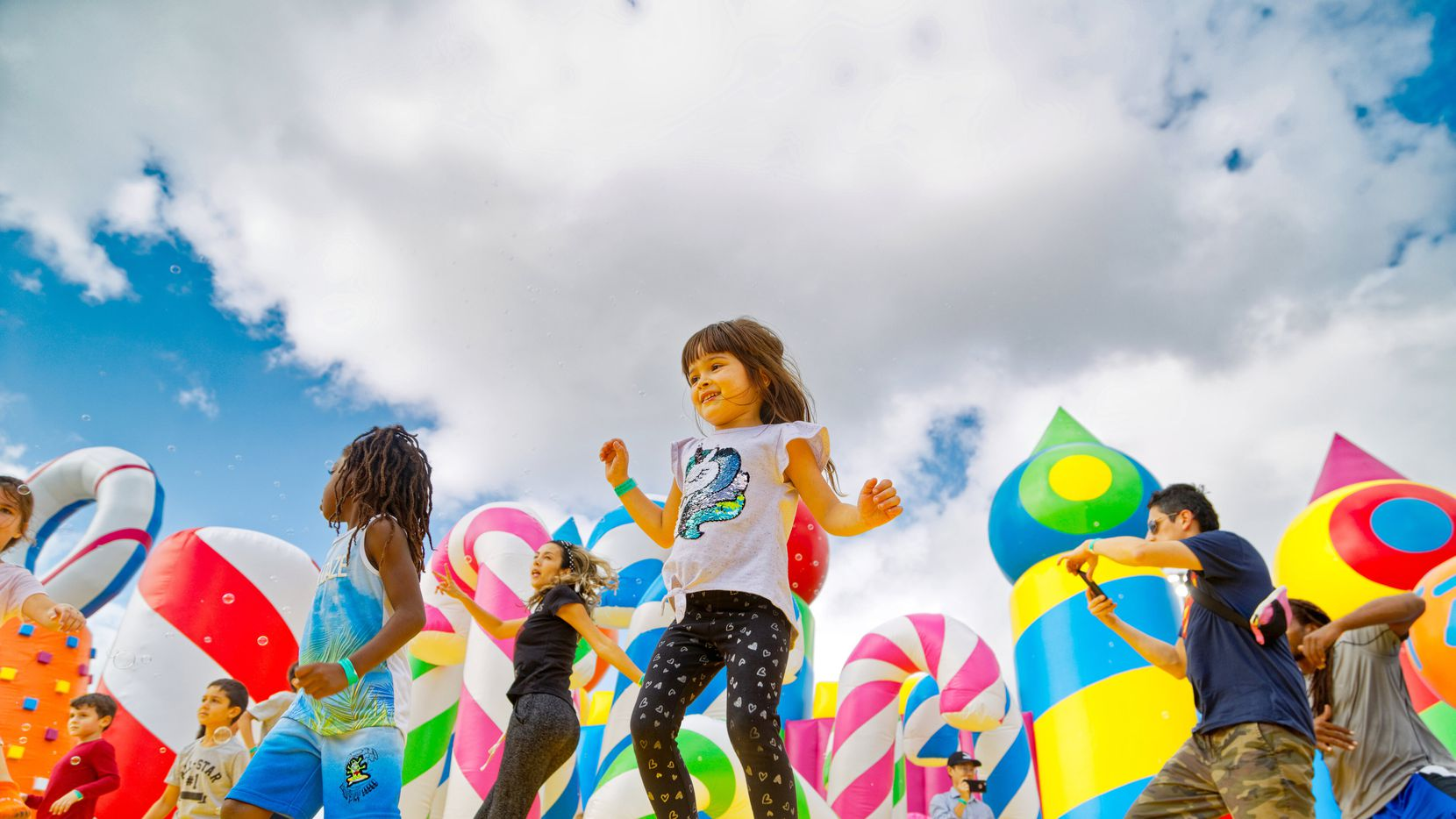 The Big Bounce America touring inflatable event will be at Southfork Ranch in Parker Oct. 9-10 and Oct. 15-17.