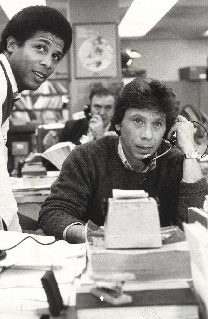 Actor Robert Walden (right) played a journalist on the TV show Lou Grant.
