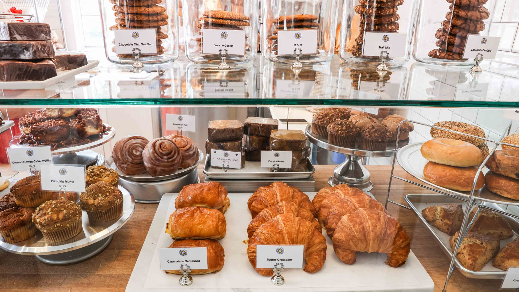 Empire Baking Company sells pastries, sandwiches and more on University Boulevard in East Dallas.