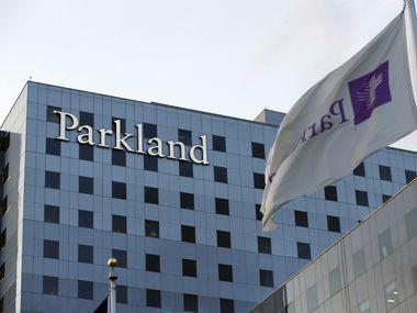Parkland Hospital. (Vernon Bryant/The Dallas Morning News)