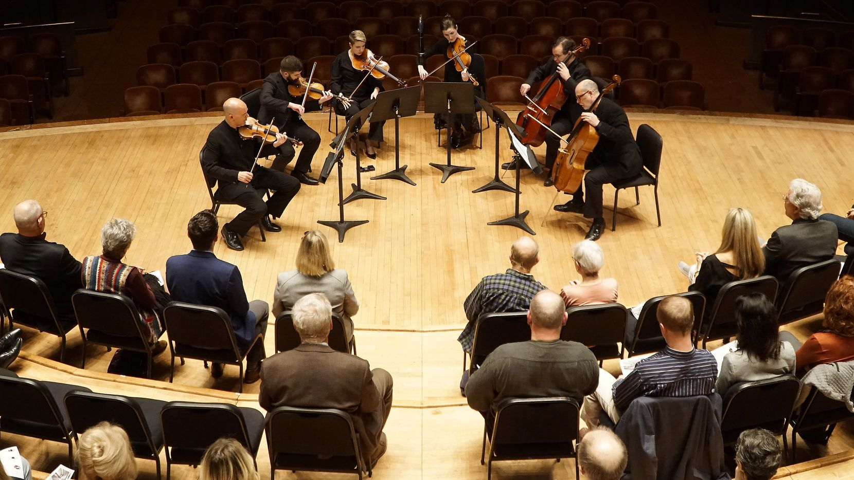 The Dallas Symphony Orchestra Principal Musicians Chamber Music Concert at the Morton H. Meyerson Symphony Center in Dallas on November 19, 2019.
