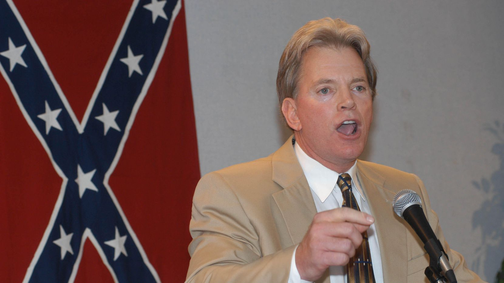 Former Ku Klux Klan leader David Duke, in 2004, said he  will make a decision later this month.