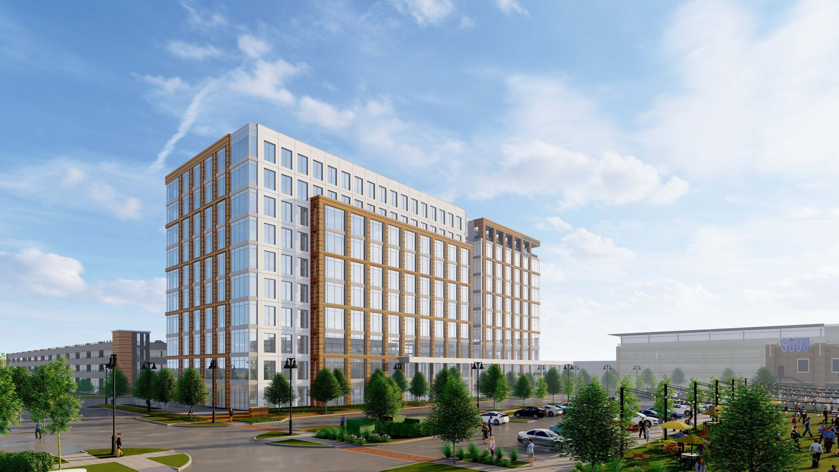 The 2999 Olympus Boulevard tower will contain 300,000 square feet.