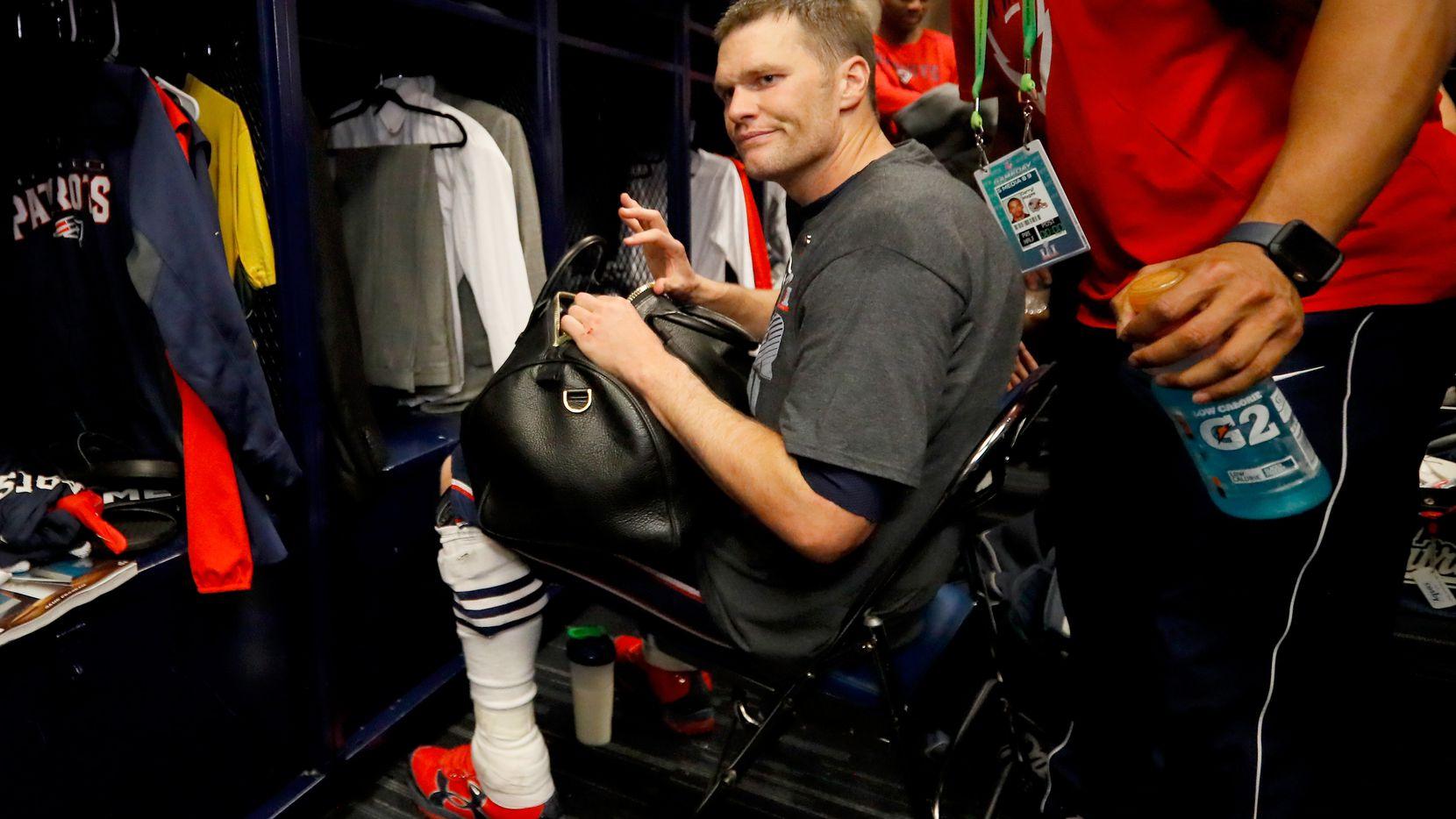 Tom Brady empacó sus maletas para dejar a los Patriots de Nueva Inglaterra y llegar a los Buccaneers de Tampa Bay