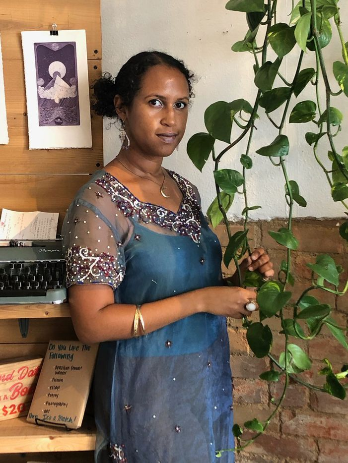 Fatima-Ayan Malika Hirsi is the author of a new poetry chapbook to be published by local nonprofit Deep Vellum Publishing.