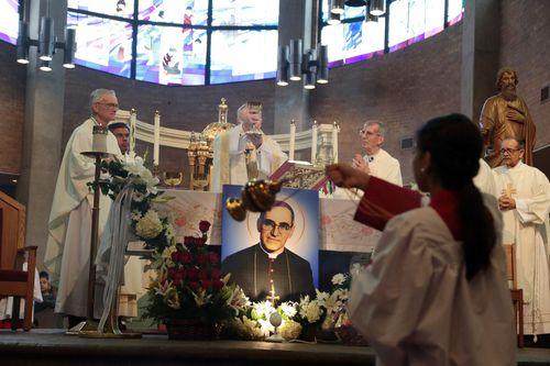 Oscar Romero, quien murió asesinado en 1980, es el primer santo salvadoreño. MARIA OLIVAS/ESPECIAL PARA AL DÍA