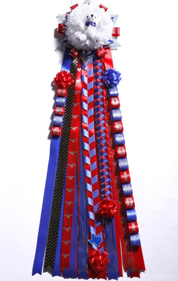 Homecoming mum for Charlie Scudder