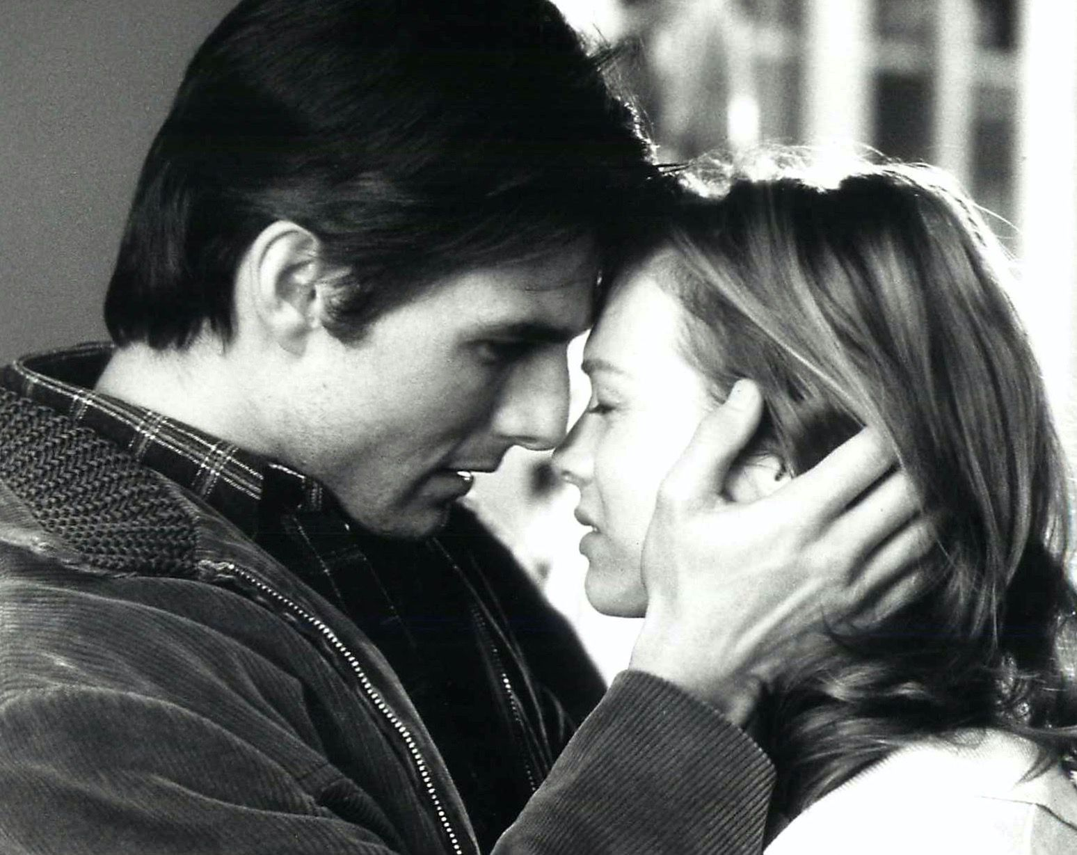Tom Cruise and Renée Zellweger in the movie, 'Jerry Maguire'