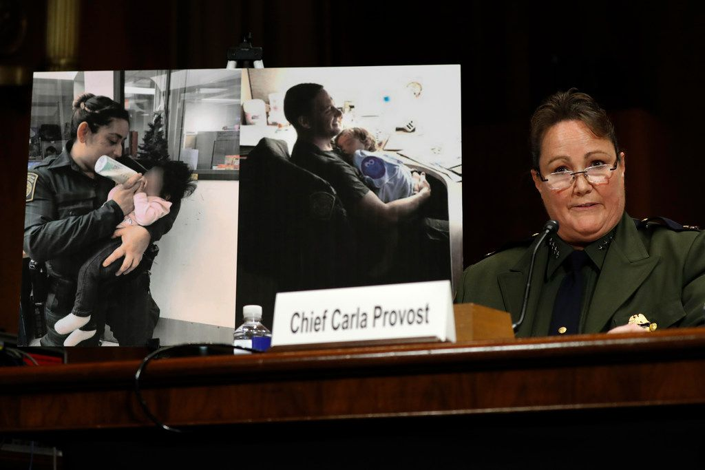 """U.S. Border Patrol Chief Carla Provost told Congress on Wednesday that her agency's apprehension numbers at the U.S.-Mexico border are """"off the charts."""""""