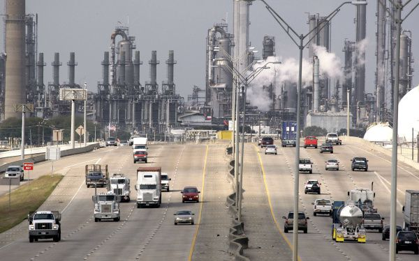 Shell Oil Co.'s Deer Park refinery and petrochemical complex, just east of Houston, employs nearly 1,700 people. A number of refineries, including some in Texas, have benefited from low prices for domestic natural gas and crude. But that was before the coronavirus pandemic when there was demand for refined crude products such as gasoline and jet fuel.