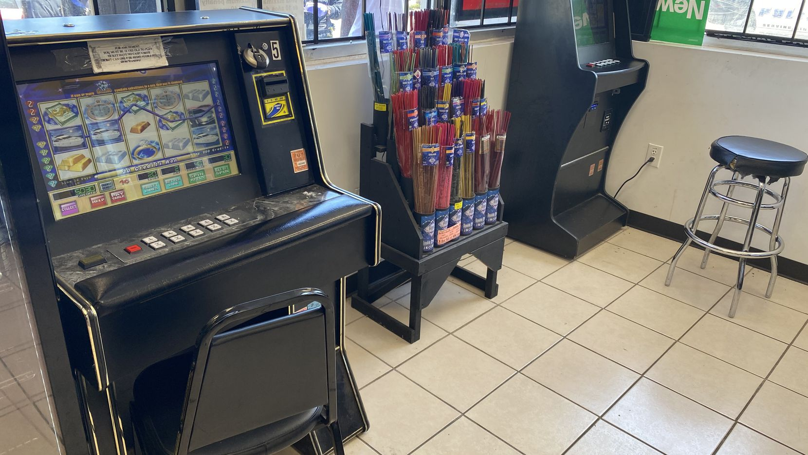 Máquinas confiscadas de juego por DPD