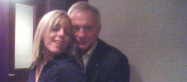 Jana Weckerly, the woman who allegedly took this photo of Jerry Jones, is now suing the Dallas Cowboys owner for sexual assault.