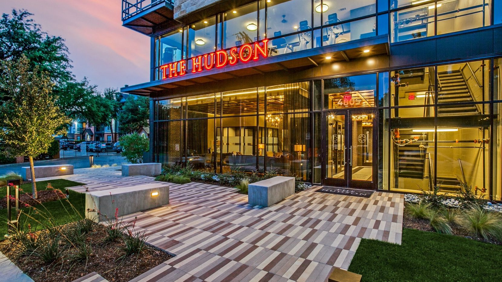 The Hudson apartments are on McKinney Avenue.