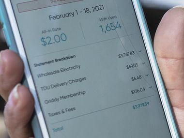 Ivet Cantú solía pagar $200 mensuales de luz por la energía de su casa; después de estos días de tormenta invernal en Texas, su recibo se fue a los $3,979.