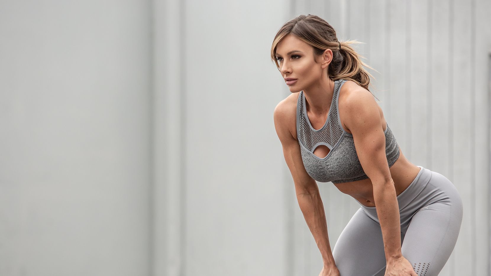 Fitness influencer Paige Hathaway poses for a publicity photo.