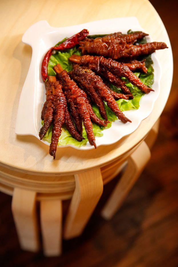 Chicken feet, an appetizer at Chuan Chuan (Tom Fox/Staff Photographer)