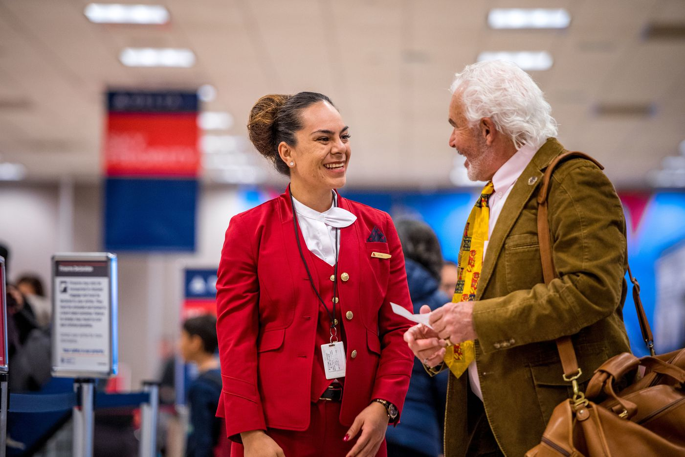 Delta Air Lines debuted new uniforms for 64,000 employees on Tuesday, the first new design in over a decade.