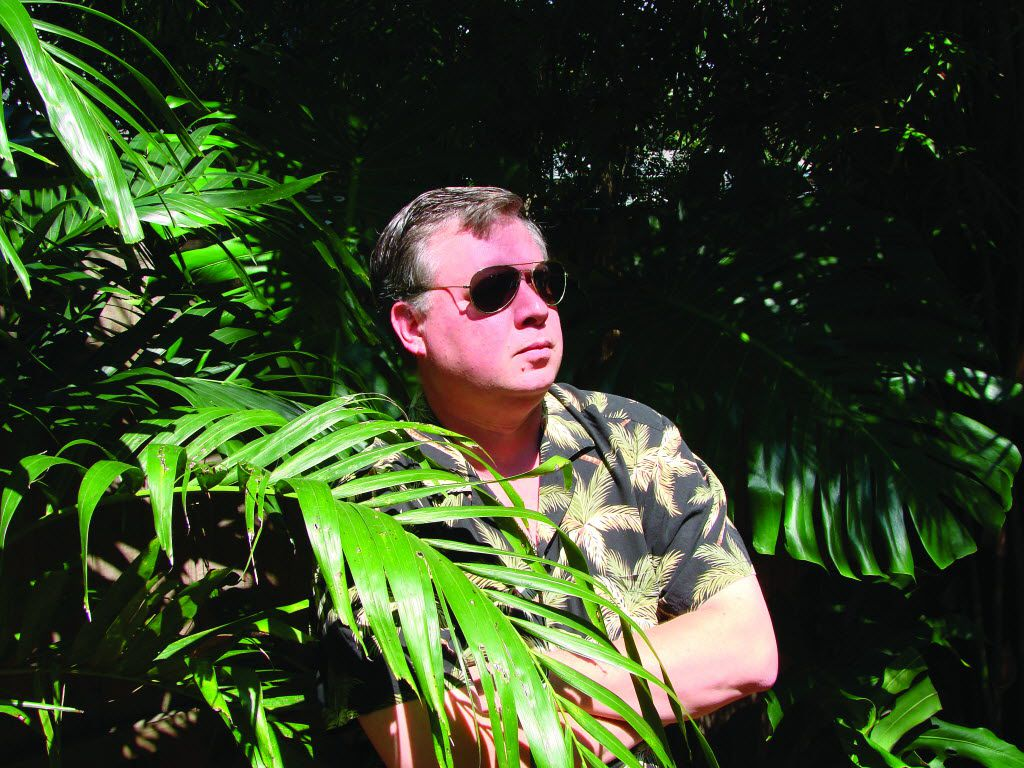 Tim Dorsey, author of  Clownfish Blues., says Florida provides plenty of inspiration for his books.