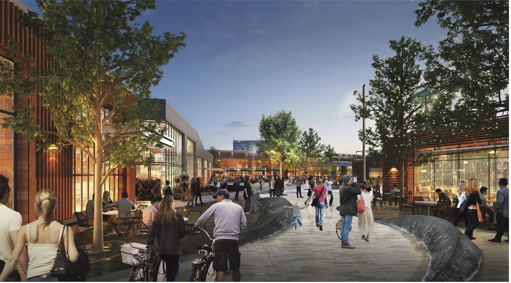 The Strand is planned for 300,000 square feet of retail space.