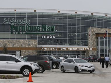 Nebraska Furniture Mart in The Colony will close at 7 p.m. on Friday, March 27.