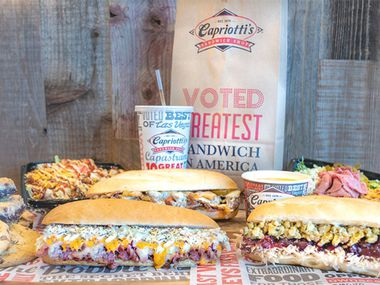 Capriotti's Sandwich Shop has opened its first North Texas location in Frisco. The new restaurant is located at 1612 Farm-to-Market 423, Suite 100.
