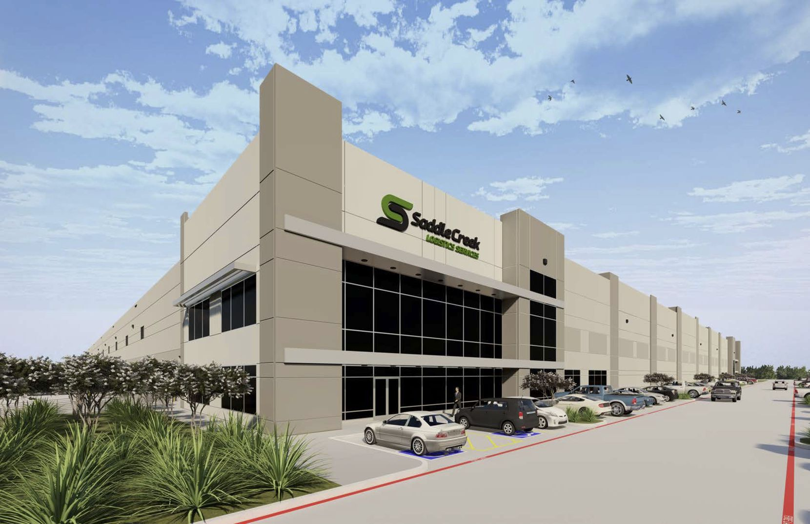 SaddleCreek Logistics' new Fort Worth shipping center will open in December.