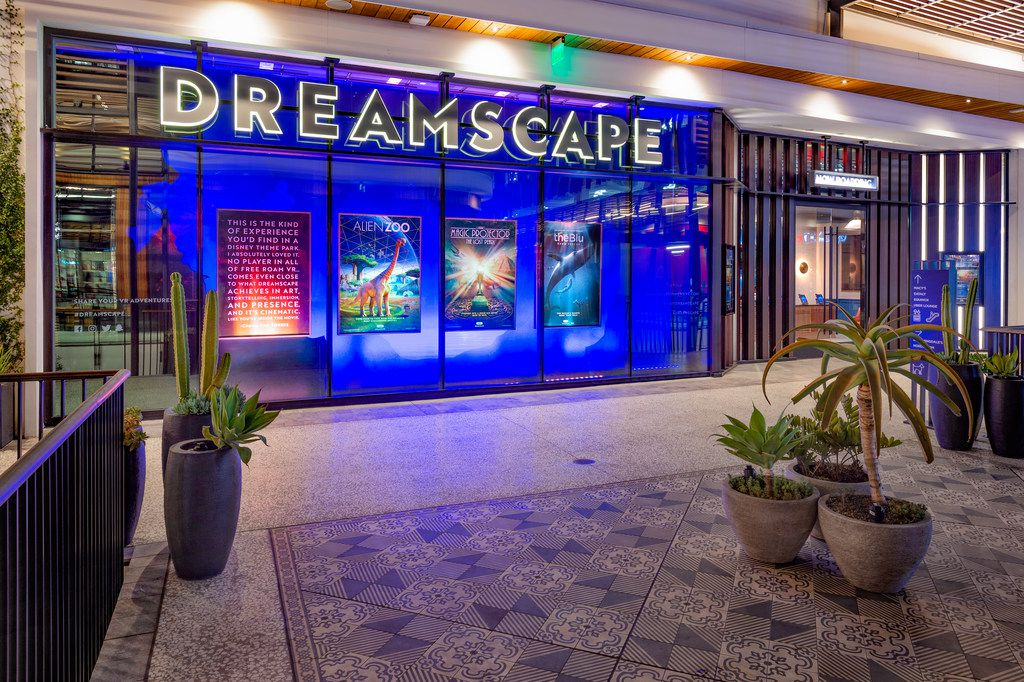 Virtual reality experience Dreamscape opens in only its second U.S. mall at NorthPark Center on August 15. The first one opened in Westfield's Century City Mall in Los Angeles in December. At NorthPark, Dreamscape will be in a 5,208-square-foot space on the second level between Neiman Marcus and Nordstrom. Dreamscape Immersive