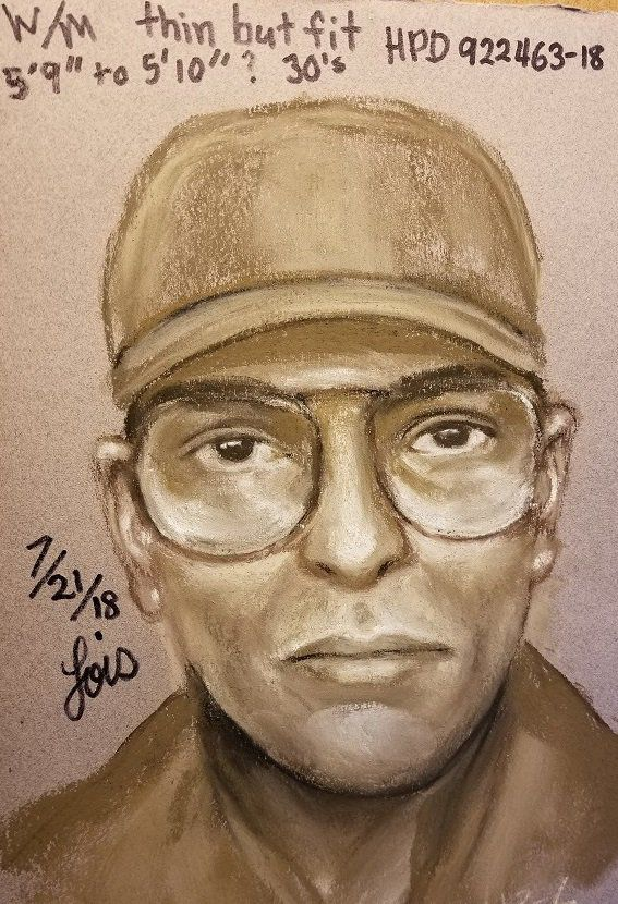 The shooting suspect was described by witnessed as white or Hispanic man around 30 years old.