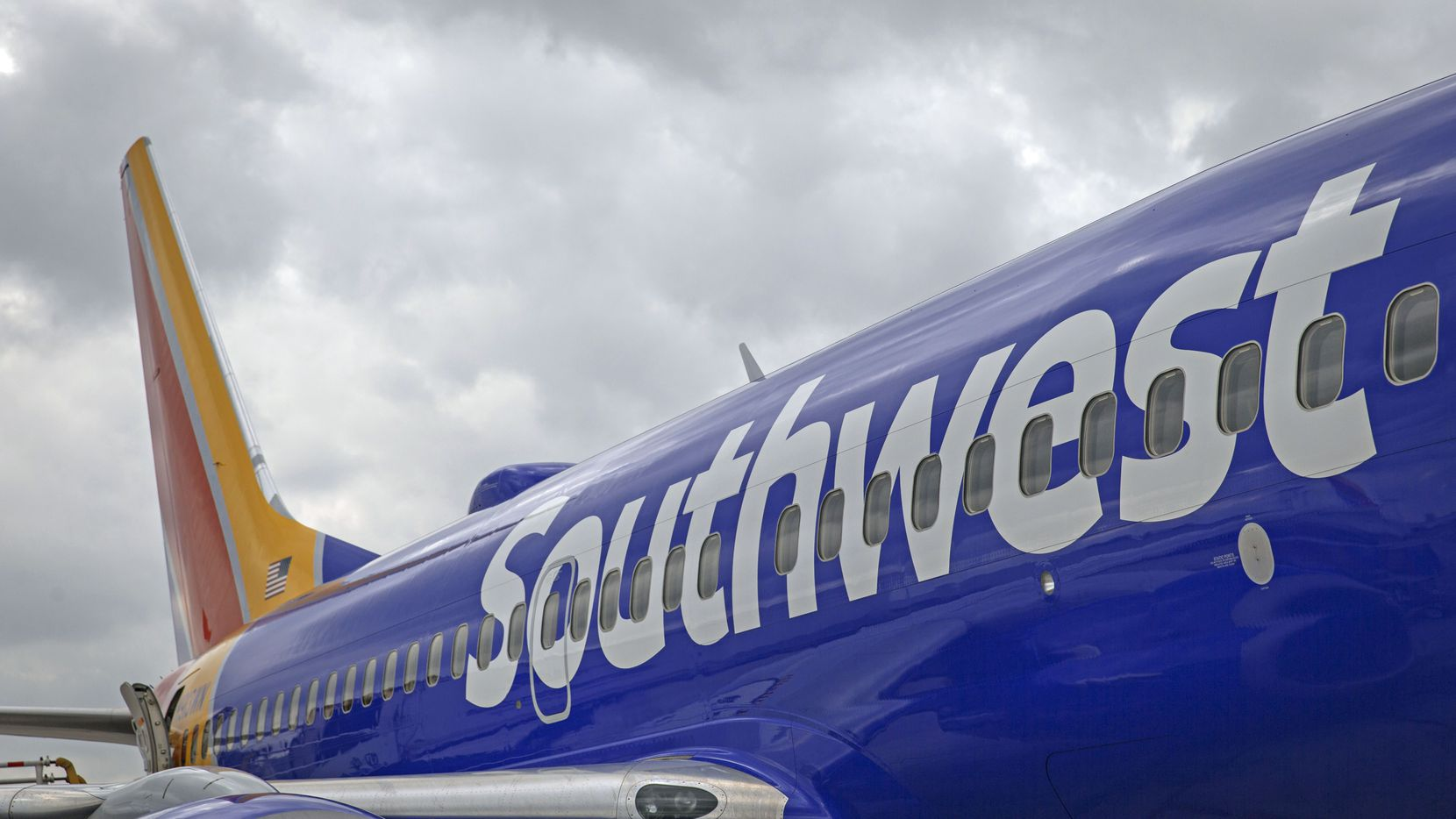 Southwest Airlines Flight 1392 touched down in Austin at 8:12 p.m. Thursday.