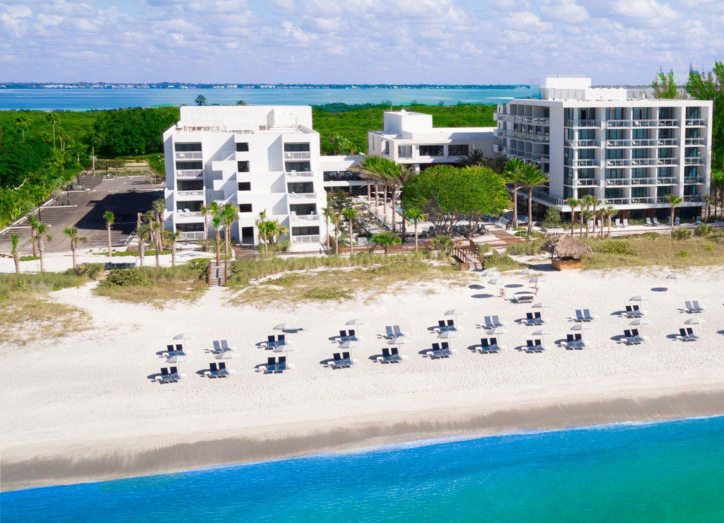 Zota Beach Resort offers access to a private beach and a South Beach vibe on laid-back Longboat Key, Fla.