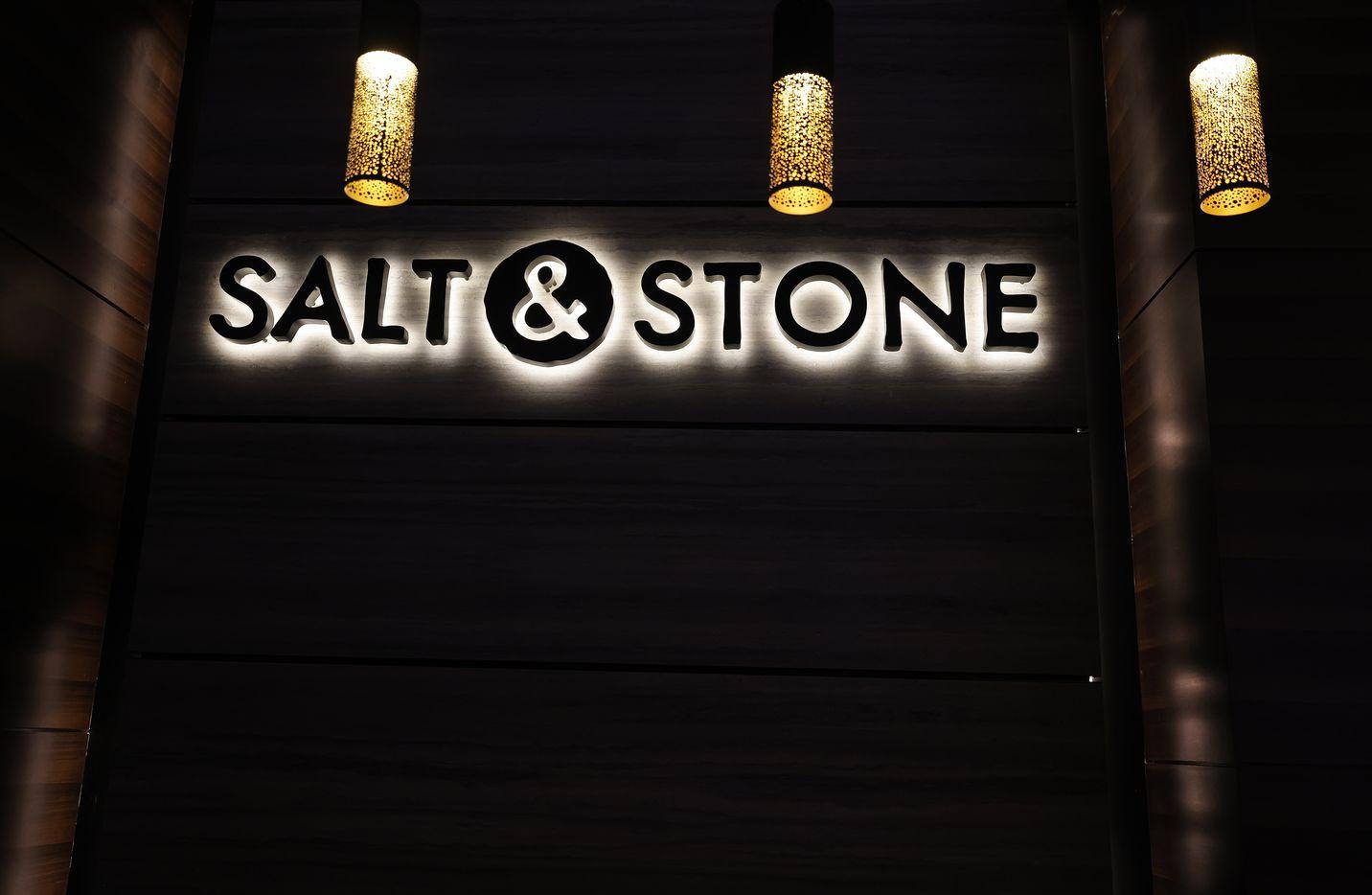 The Salt & Stone restaurant on the casino floor.
