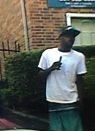 Dallas police are searching for this man, who they believe stole a patrol rifle from a squad car Tuesday.